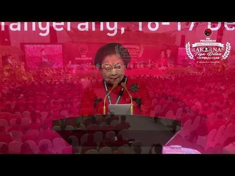 Pidato Politik Ketua Umum Rakornas Tiga Pilar PDI Perjuangan