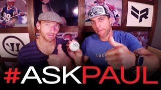 Paul Rabil Interviews Cannons' Midfielder Stephen Berger? | #ASKpaul asks Berger