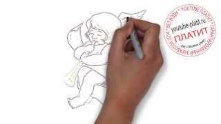 Как рисовать ангела поэтапно   Как быстро нарисовать ангела для начинающих(как нарисовать ангела, как нарисовать ангела поэтапно, как нарисовать ангела карандашом, как нарисовать..., 2014-07-31T03:46:25.000Z)