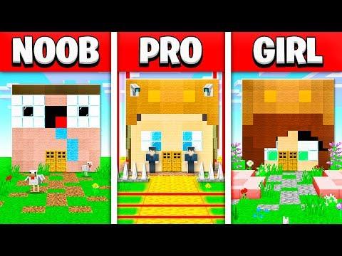noob-vs-pro-vs-girl-friend-minecraft-house-battle!-(build-challenge)