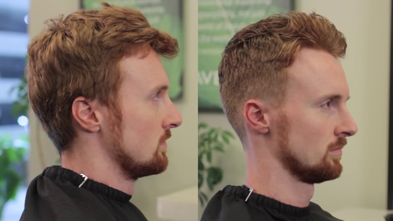 Short Men S Haircut With Clipper Over Comb Youtube