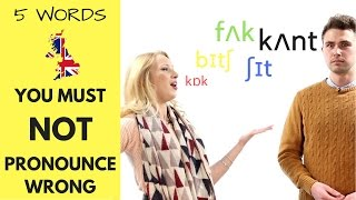 do you make these pronunciation mistakes   british pronunciation training