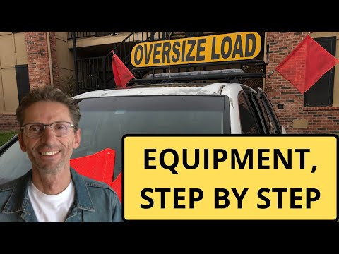 Pilot Car Equipment, Step By Step Instructions On How To Get It Done Quickly.
