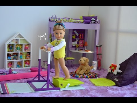 Thumbnail: American Girl Doll McKenna's Bedroom ~ Watch in HD!