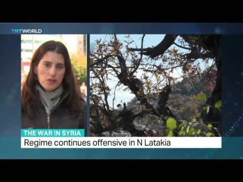 TRT World: Latest on Syrian war, Zeina Awad reports from Turkey's Gaziantep