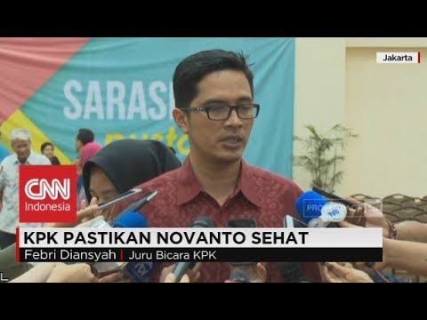 KPK Pastikan Novanto Sehat