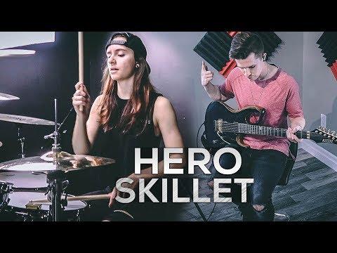 Skillet – Hero – Kristina Schiano & Cole Rolland (Cover)