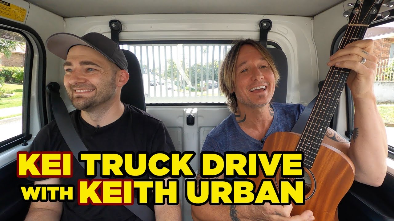 Picking up KEIth Urban in my KEI Truck