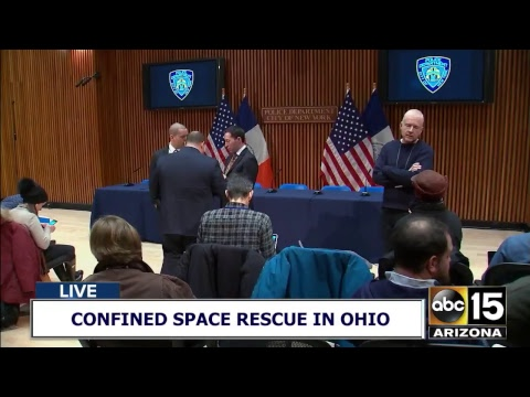 LIVE: Confined space rescue in Ohio!