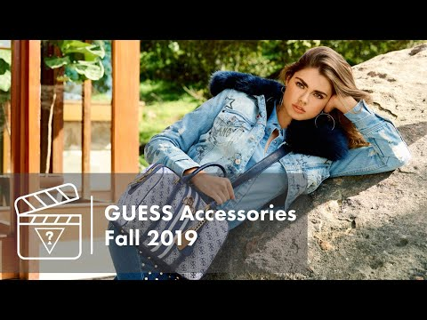 Behind The Scenes: GUESS Accessories Fall 2019 Campaign