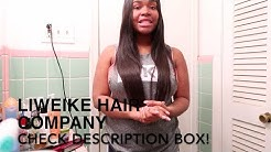 Affordable 18'20'22' Bundles with 16' Closure Straight Hair INSTALL & TUTORIAL Ft. LIWEIKE HAIR