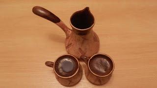 Кофе в турке.  Готовит Никита Сергеевич