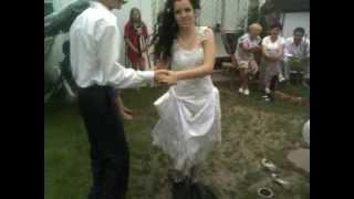 Невеста в ластах(прикол)