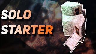 Rust Solo Starter Base Design 2019   Best for Modded