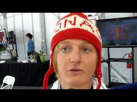 7956757dc402 Alexandra Coletti (ski) après le super G - YouTube