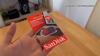 SanDisk Cruzer Switch 64GB flash drive review and test