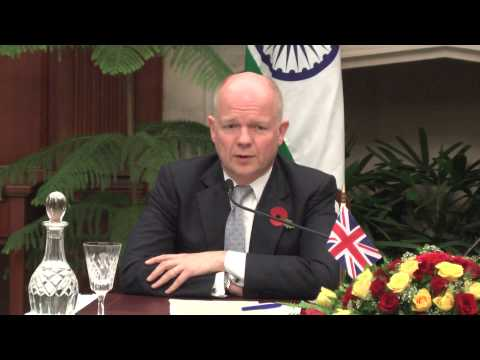 Joint Press Interaction-EAM and UK Secretary of State for Fo