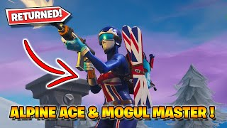 🔴 ALPINE ACE - MOGUL MASTER SKINS HAS RETURNED! (Fortnite Livestream)