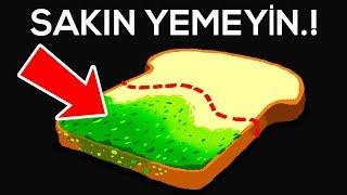Küflenmiş Ekmeğin Temiz Kısmını ''ASLA'' Yemeyin.