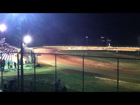 Golden Isles Speedway Hobbystock Heat #2 10 4 2014