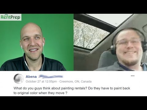 Tenants Painting Rentals - ASK PM #14
