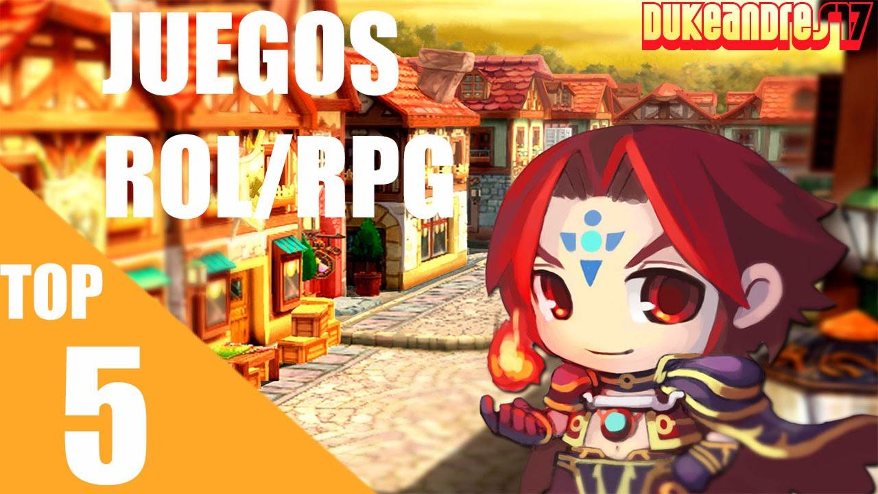 Top 5 Juegos De Rol Rpg Dukeandres17 Youtube