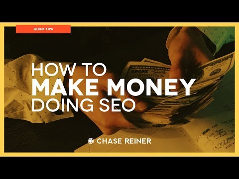 How To Make Money Doing SEO