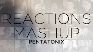 Pentatonix - Imagine (John Lennon Cover) REACTIONS MASHUP!!!