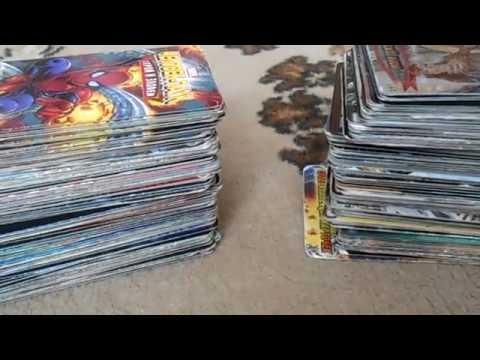 Коллекция карточек Человек паук : герои и  злодеи