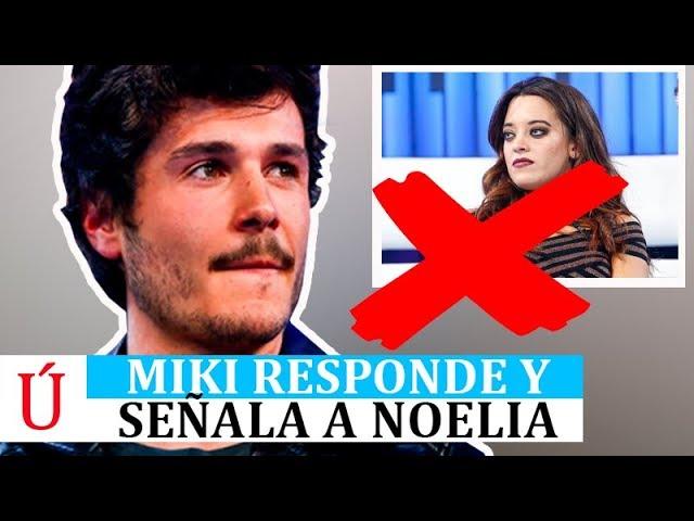 El palo de Miki a Noelia a su salida de Operación Triunfo 2018 con respecto a Eurovisión 2019