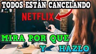 Muchos están  cancelando  Netflix  Esta es la razón por la cual lo hacen