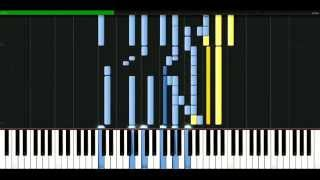 Rolling Stones - You cant always get what u want [Piano Tutorial] Synthesia | passkeypiano