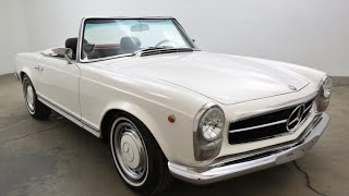 Mercedes 230SL Intro