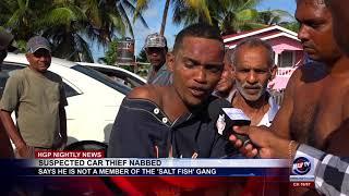 SUSPECTED CAR THIEF NABBED