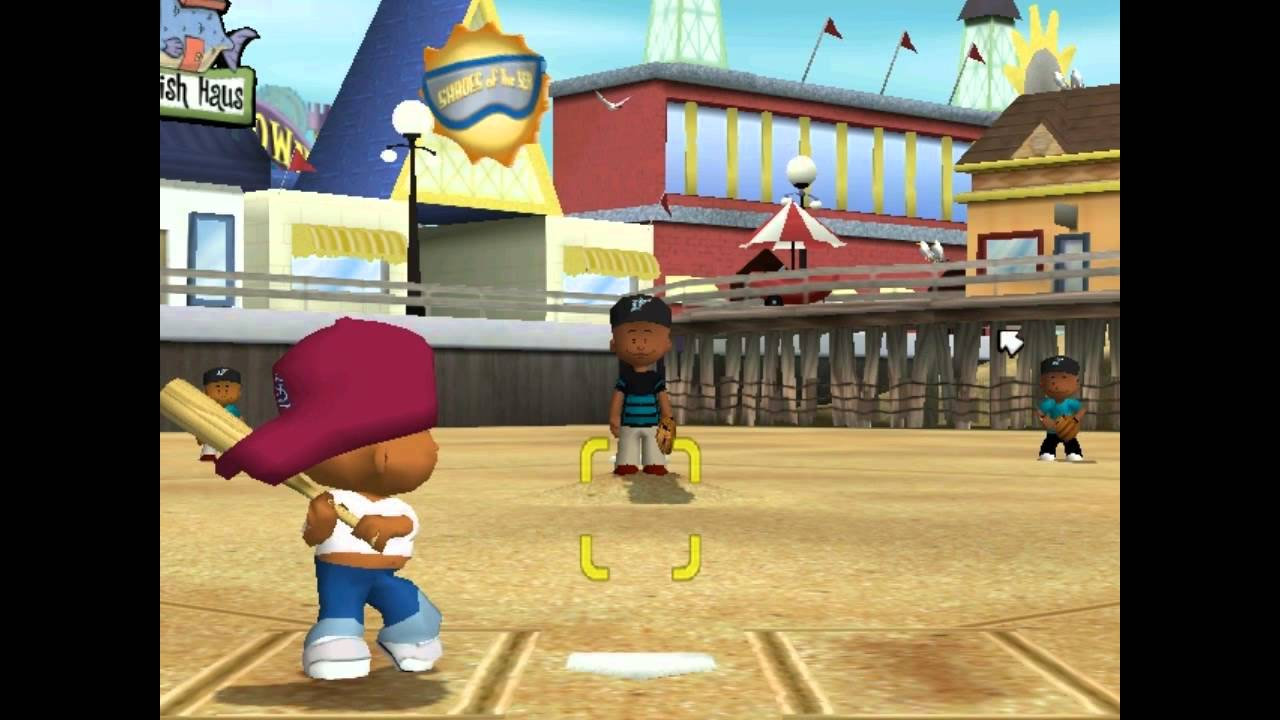 Retro Backyard Baseball 2005 Youtube
