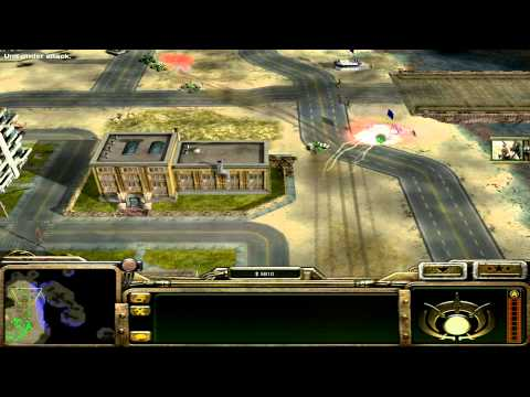 Command and Conquer: Generals GLA Campaign Mission 5 - Toxic Waste Facilities [HD]