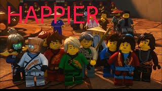 Happier (Marshmello) - Ninjago Tribute