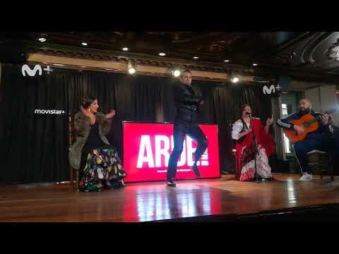 Tablao Villa Rosa: Flamenco en la presentación Arde Madrid de Paco León