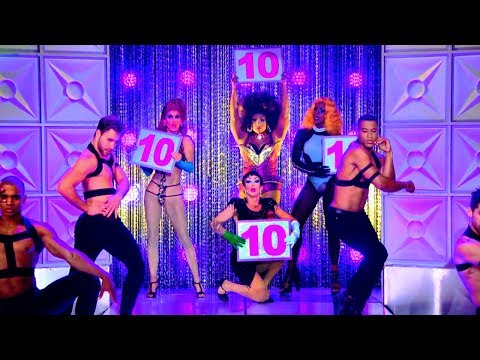 RuPaul - Category Is... ft. Peppermint, Sashar, Shea Couleé & Trinity  | Drag Race S9 TOP 4 [HQ]