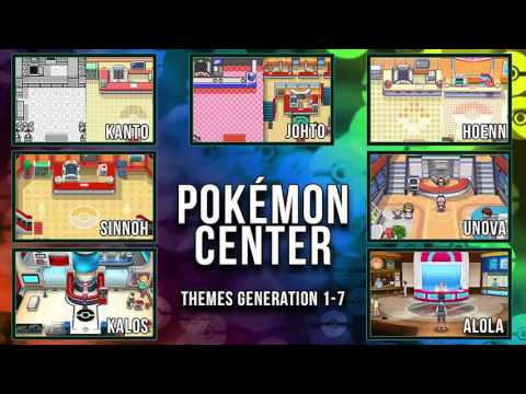 All Pokémon Center Themes [GEN 1-7]