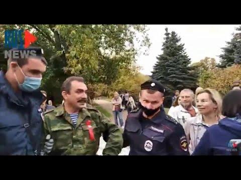 ⭕️ Задержание Михаила Шендакова на народном сходе защитников парка в Москве