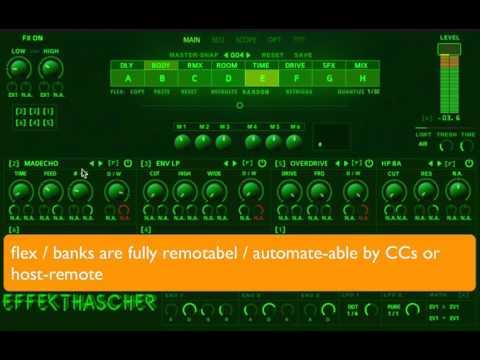 Effekthascher VST (reaktor)