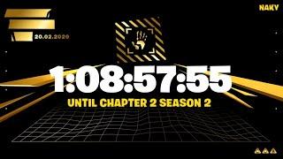 COUNTDOWN TO FORTNITE CHAPTER 2 SEASON 2 !