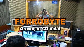 ForróByte - Gravação CD Vol.4 Estúdio Imagem Interativa ( Full HD)
