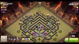 Clash Of Clans Pedro x5 dando 100% Ataque com 15 Bruxas lvl 2