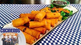 Receta: Rollos primavera | Cocineros Mexicanos