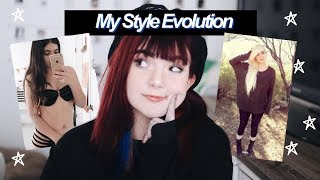 🖤 My Style Evolution 🔥| Reacting To old Outfit Pictures