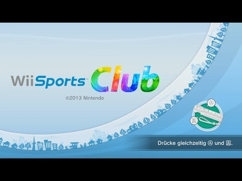 Wii Sports Club (Tennis, Bowling) - *eShop&Retro* (German)