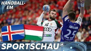 Ungarn überrumpelt Island - und schockiert Weltmeister Dänemark   Handball-EM   Sportschau