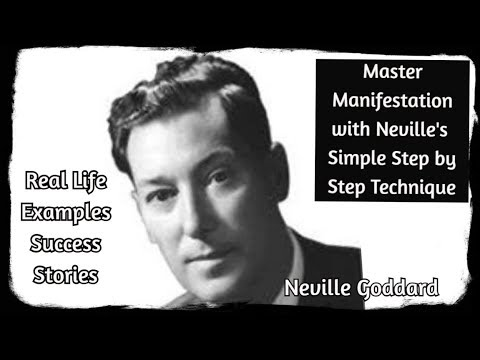 Download Neville Goddard - Powerful Manifesting Techniques (real life examples)